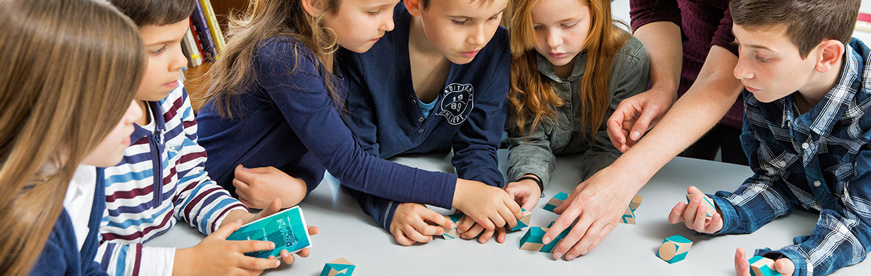 Rombi being used by children in school