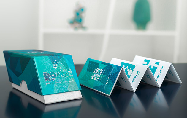 Adult relaxing using Rombi