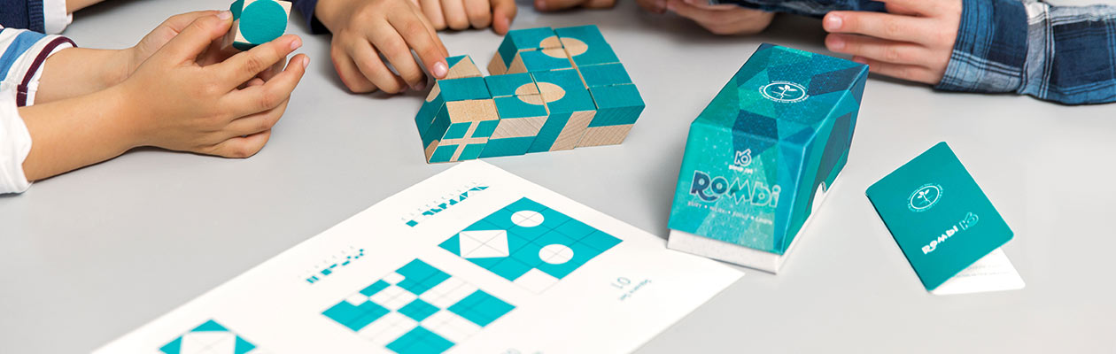 Rombi pattern sheets being used in schools